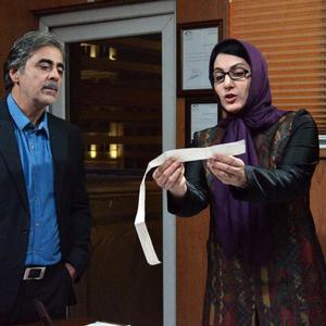 محمود مقامی و فاطمه گودرزی در فیلم «سایه»