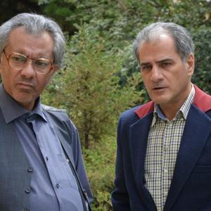 ناصر ھاشمی و محمدرضا ھدایتی در فیلم «شکلاتی»