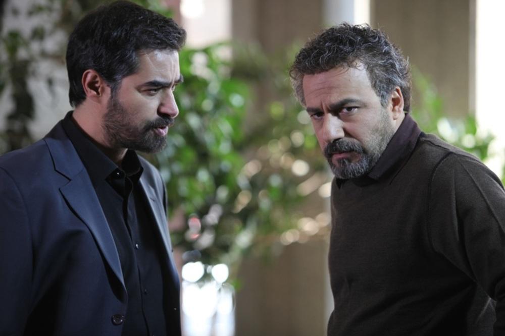 شهاب حسینی و امیر آقایی در فیلم «هیس دخترها فریاد نمی زنند»