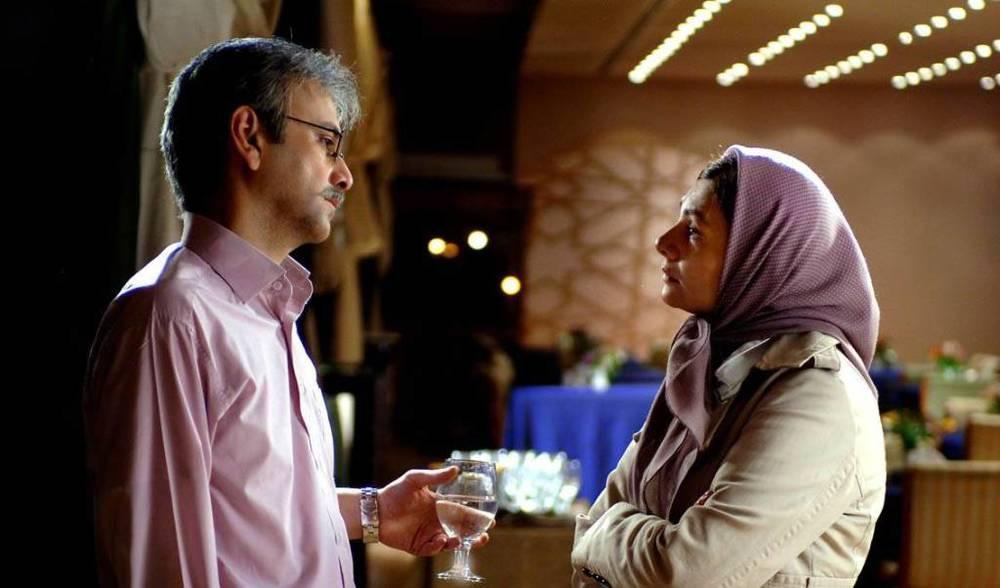 هنگامه قاضیانی و حبیب رضایی در فیلم «من مادر هستم»