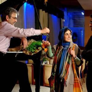 باران کوثری، حبیب رضایی و امیرحسین آرمان در فیلم «من مادر هستم»