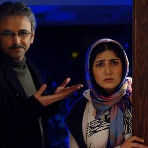 باران کوثری و حبیب رضایی در فیلم «من مادر هستم»