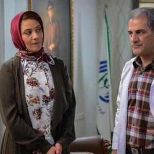 ناصر ھاشمی و شبنم مقدمی در فیلم «شکلاتی»