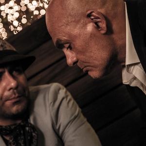 جمشید هاشمپور و مجید واشقانی در فیلم «هاری»