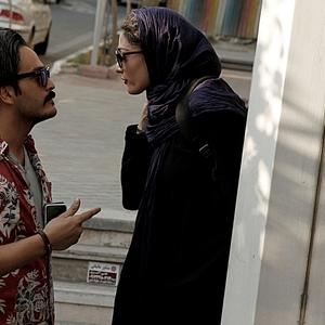 میلاد کیمرام و مینا ساداتی در فیلم «هاری»