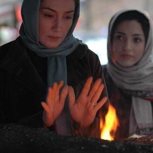 هدیه تهرانی و خاطره اسدی در فیلم «هفت دقیقه تا پاییز»
