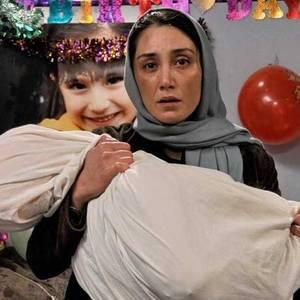 هدیه تهرانی در فیلم «هفت دقیقه تا پاییز»