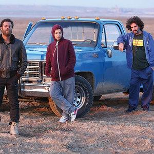 پژمان بازغی، روشنک گرامی و هوتن شکیبا در فیلم «هلن»