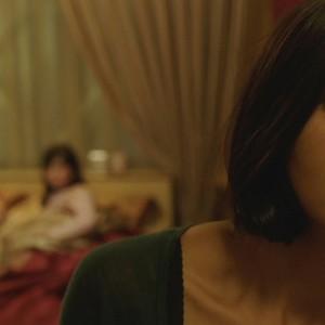 نرگس رشیدی در فیلم «زیر سایه»(Under the Shadow)
