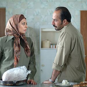 یکتا ناصر و امیر آقایی در فیلم «روز برمی آید»
