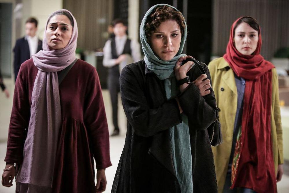 پگاه آهنگرانی، سحر دولتشاهی و مهسا همتی در فیلم «لابی»