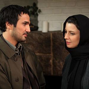 لیلا حاتمی و محمدرضا فروتن در نمایی از فیلم چهل سالگی