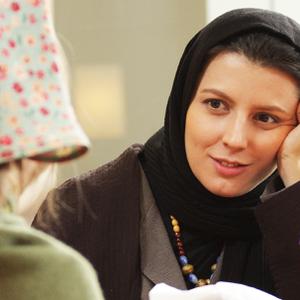لیلا حاتمی در نمایی از فیلم چهل سالگی