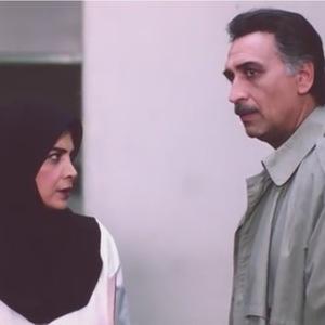 احمد نجفی و بیتا فرهی در نمایی از فیلم هتل کارتن
