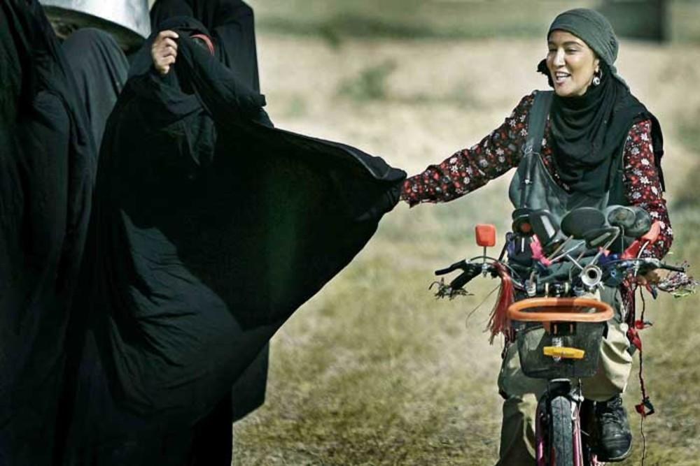 پانته آ بهرام در نمایی از فیلم بدرود بغداد