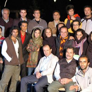 عکس یادگاری عوامل پشت ضحنه فیلم شبانه روز