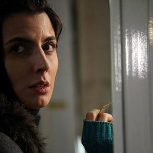 ليلا حاتمی در نمایی از فیلم «سر به مهر»