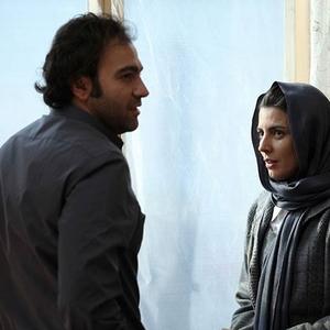 ليلا حاتمی و آرش مجيدی در نمایی از فیلم «سر به مهر»