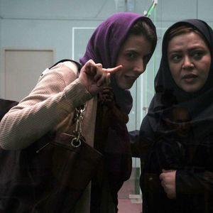 لیلا حاتمی و بهاره رهنما در فیلم آشنایی با لیلا