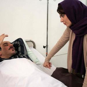 لیلا حاتمی و عادل یراقی در فیلم آشنایی با لیلا