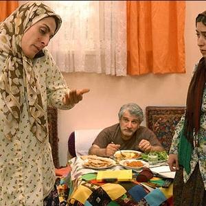 بهناز جعفری و مهدی هاشمی در فیلم تلفن همراه رئیس جمهور