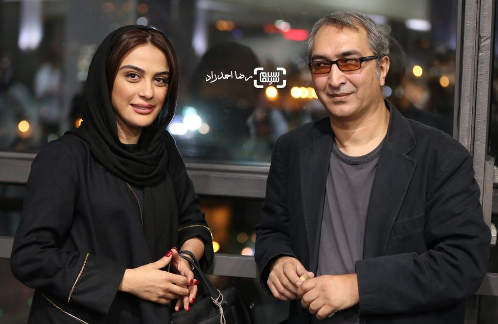 مارال فرجاد و امیر عابدی در اکران خصوصی فیلم «خشکسالی و دروغ»
