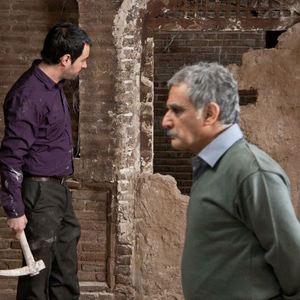 شهاب حسینی و مهدی هاشمی در فیلم خانه پدری
