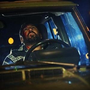 علی انصاریان در نمایی از فیلم کلاف
