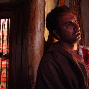 حمید فرخ نژاد در نمایی از فیلم رنگ ارغوان