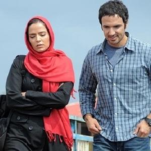 محمدرضا فروتن و سپيده خداوردي در نمایی از فیلم پیمان