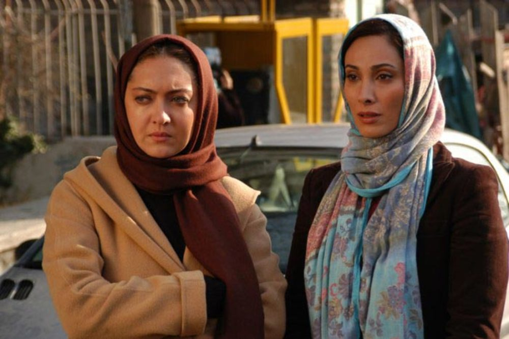 نیکی کریمی و بهناز جعفری در نمایی از فیلم زن دوم