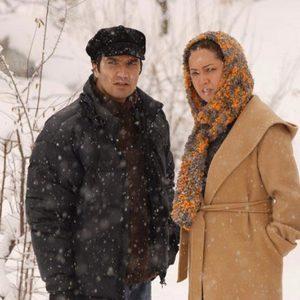 نیکی کریمی و محمدرضا فروتن در فیلم دو زن