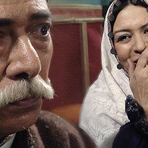 علی نصیریان و رویا تیموریان در فیلم پستچی سه بار در نمی زند