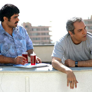 مهران مدیری و امیر نوری در فیلم دایره زنگی
