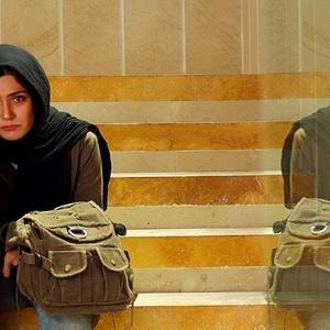 باران کوثری در نمایی از فیلم دایره زنگی