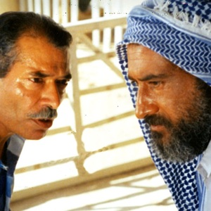 داریوش ارجمد و علی نصیریان  فیلم ناخدا خورشید