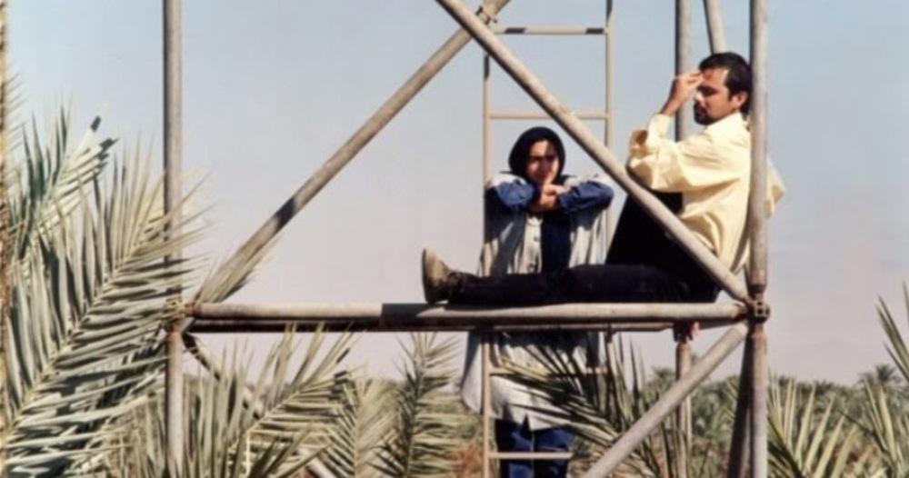 نیکی کریمی و علی مصفا در فیلم برج مینو