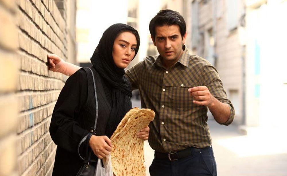 امیرحسین آرمان و سحر قریشی در فیلم «نازنین»