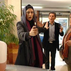 مهتاب کرامتی و امین حیایی و محمدرضا شریفی نیا در فیلم زن ها فرشته اند