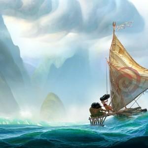 نمایی از انیمیشن سینمایی «موآنا»(Moana)