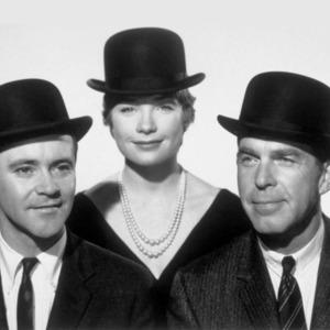 شرلی مک لین، جک لمون و فرد مک موری بازیگران فیلم «آپارتمان» محصول سال 1960