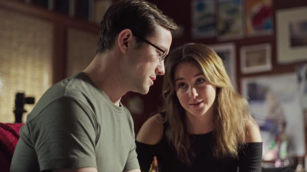 شایلین وودلی و جوزف گوردون لویت در فیلم «اسنودن»(Snowden)