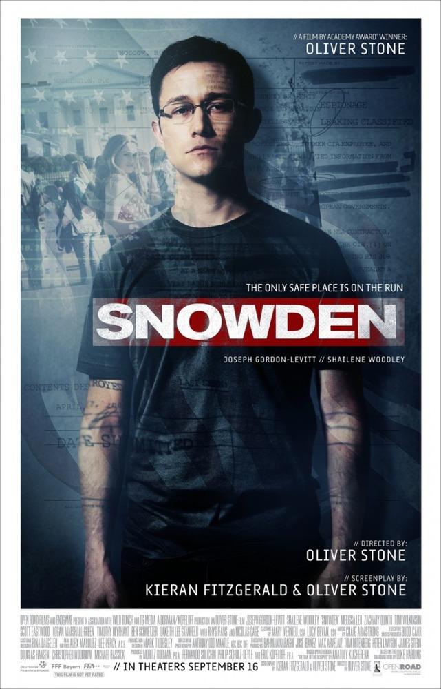 پوستر فیلم «اسنودن»(Snowden)