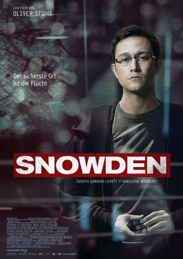 پوستر فیلم «اسنودن»