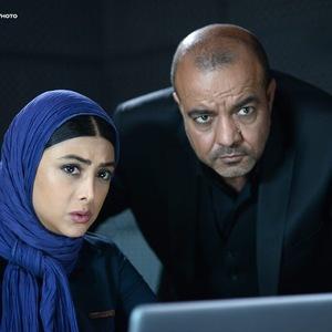 سعید آقاخانی و آزاده صمدی در سریال نمایش خانگی «عالیجناب»