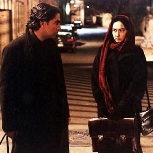 مهدی احمدی و هانیه توسلی در فیلم «شب های روشن»