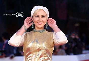 آنا نعمتی در فرش قرمز فیلم «جاودانگی» در جشنواره فیلم رم