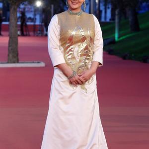 آنا نعمتی در فرش قرمز فیلم «جاودانگی» در یازدهمین جشنواره فیلم رم