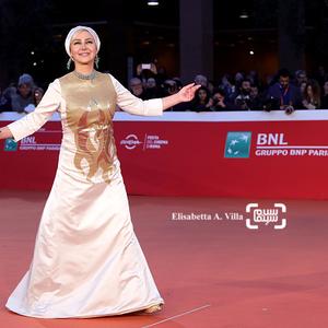 آنا نعمتی در فرش قرمز «جاودانگی» در جشنواره فیلم رم