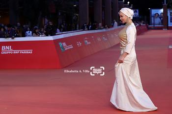 آنا نعمتی در فرش قرمز «جاودانگی» در جشنواره رم